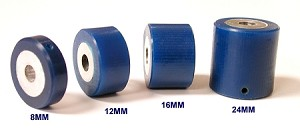 12mm Blue Urethane Feeder Roller